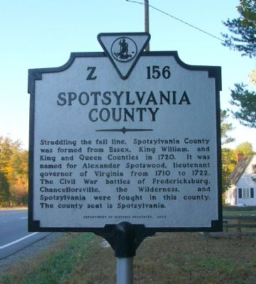 Spotsylvania County Face image. Click for full size.