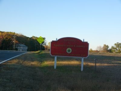Welcome to Spotsylvania County image. Click for full size.
