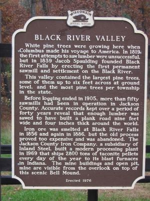 Black River Valley Marker image. Click for full size.