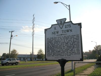 New Town Marker image. Click for full size.