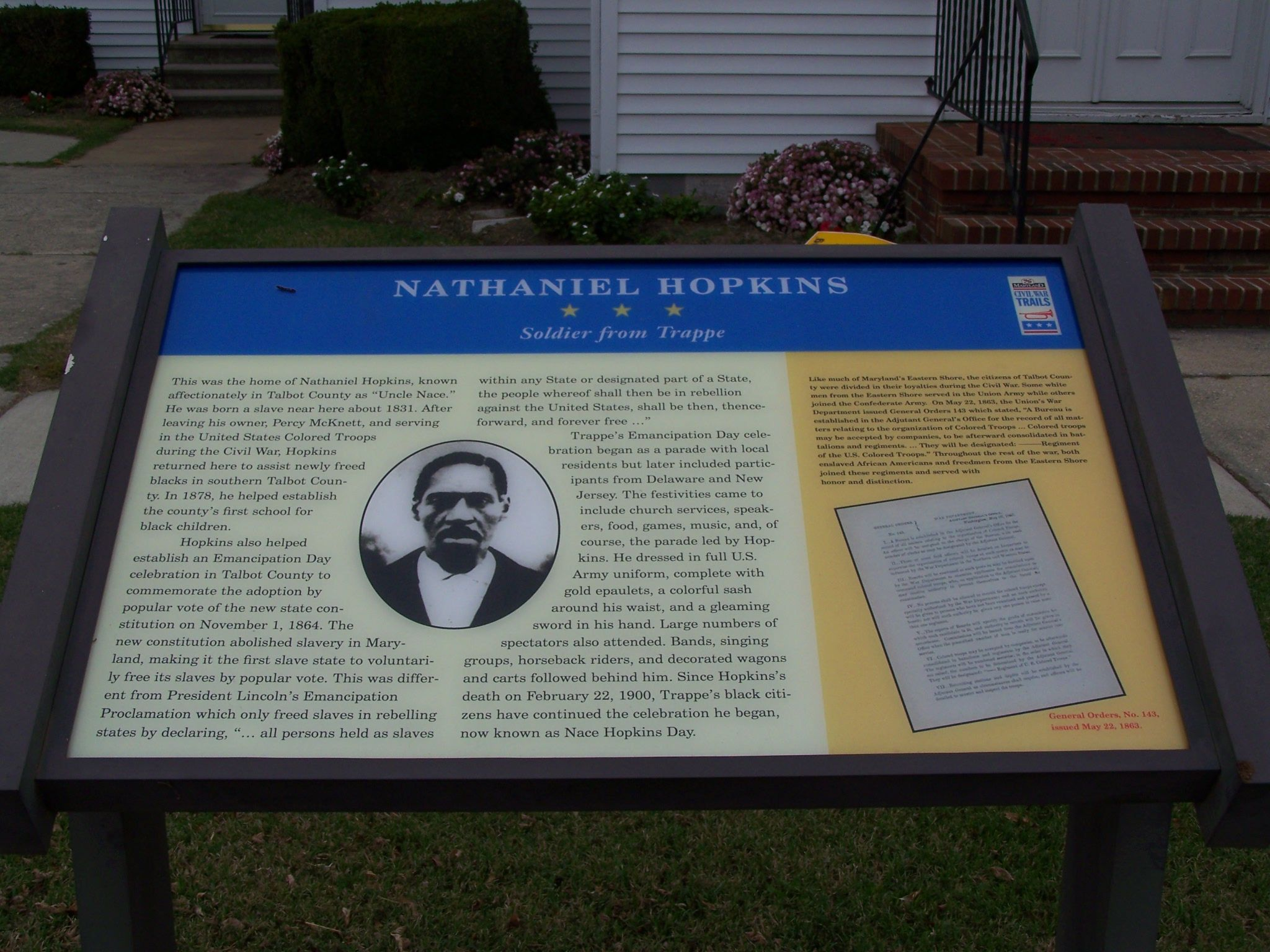 Previous version of the marker
