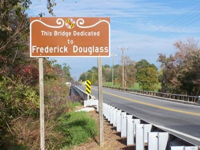 This Bridge Dedicated to Frederick Douglass image. Click for full size.