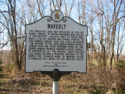 Waverly Marker image. Click for full size.