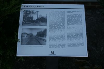 The Early Years marker image. Click for full size.
