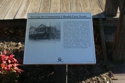 Serving the Community's Health Care Needs marker image. Click for full size.