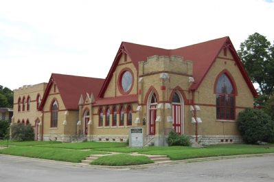 First Christian Church of Taylor image. Click for full size.