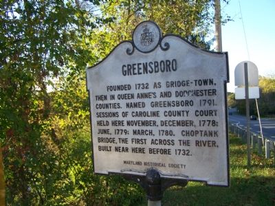 Greensboro Marker image. Click for full size.