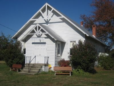 Lower Marlboro Church Hall image. Click for full size.