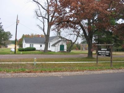Winnebago Indian Mission Church image. Click for full size.