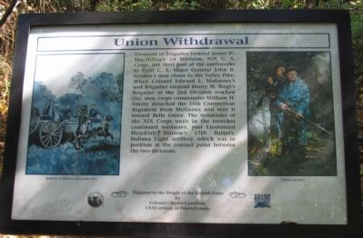 Union Withdrawal Marker image. Click for full size.