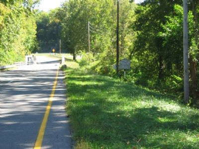County Line Marker along the Valley Pike image. Click for full size.