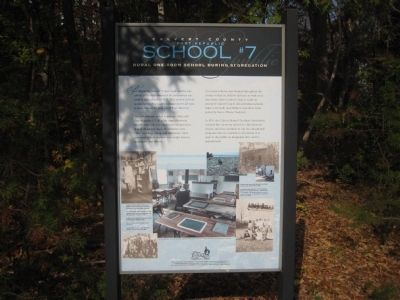 Another School Marker on the Site image. Click for full size.