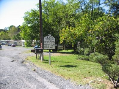 Marker beside the Valley Pike in Strasburg image. Click for full size.