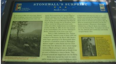Stonewall's Suprise Marker image. Click for full size.