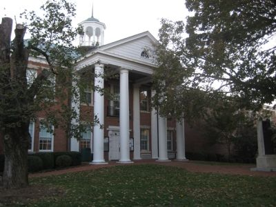 Calvert County Courthouse image. Click for full size.