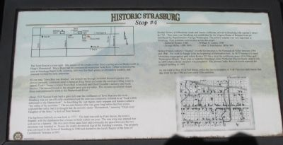 Historic Strasburg Marker image. Click for full size.