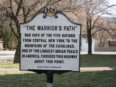 """The Warrior's Path"" Marker image. Click for full size."