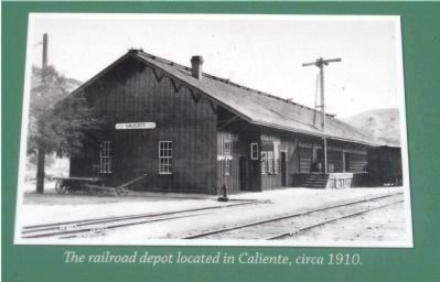 The Depot at Caliente image. Click for full size.