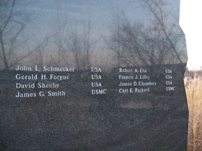 Vietnam War Tablet image. Click for full size.