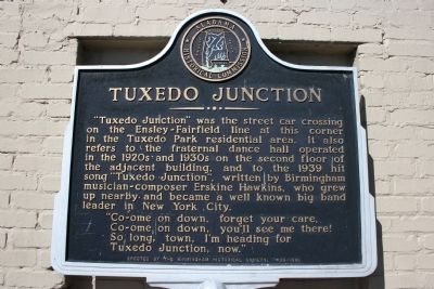 Tuxedo Junction Marker image. Click for full size.