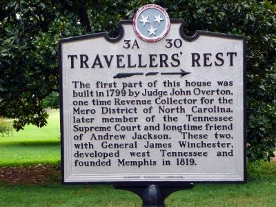 Travellers' Rest Marker image. Click for full size.