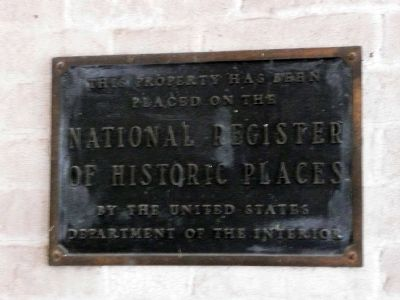 Travellers' Rest National Register of Historic Places image. Click for full size.