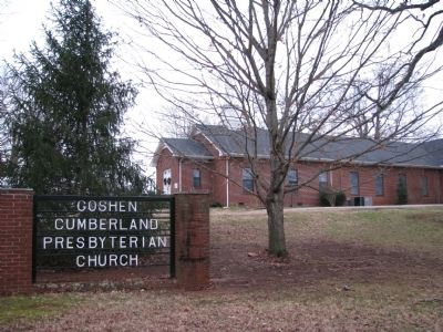 Goshen Cumberland Presbyterian Church image. Click for full size.