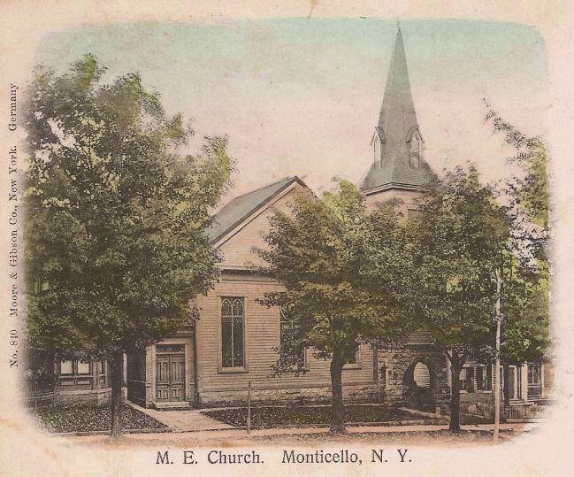 Monticello Methodist Church image. Click for full size.