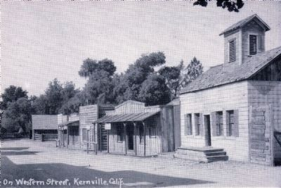 On Western Street, Kerville, Calif. image. Click for full size.
