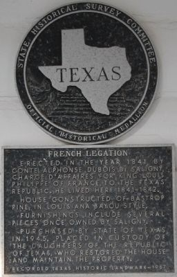 French Legation Marker image. Click for full size.