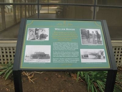 Weller House Marker image. Click for full size.