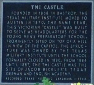 TMI Castle Marker image. Click for full size.