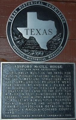Ashford McGill House Marker image. Click for full size.