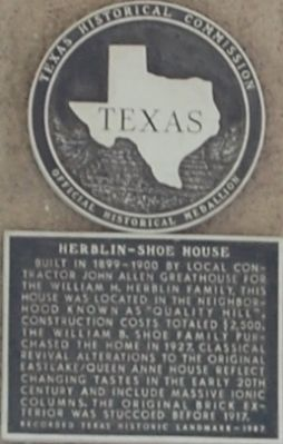 Herblin – Shoe House Marker image. Click for full size.