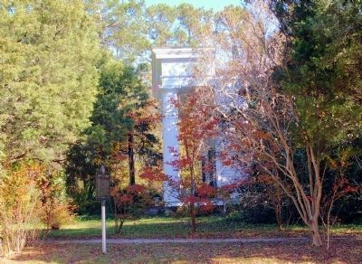 Historic Dugas Home and Marker image. Click for full size.