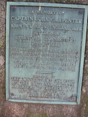 Captain John Carpenter Marker image. Click for full size.