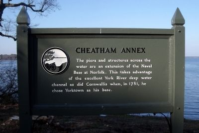 Cheatham Annex Marker image. Click for full size.