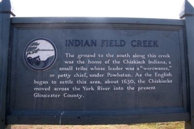 Indian Field Creek Marker image. Click for full size.
