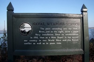 Naval Weapons Station Marker image. Click for full size.
