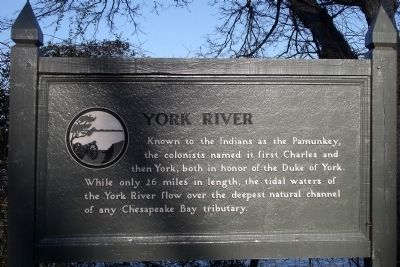 York River Marker image. Click for full size.