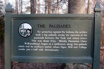 The Palisades Marker image. Click for full size.