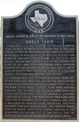Doyle Farm Marker image. Click for full size.