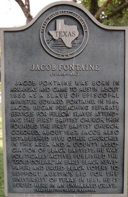Jacob Fontaine Marker image. Click for full size.