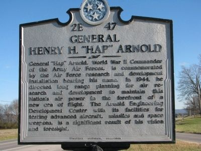 "General Henry H. ""Hap"" Arnold Marker image. Click for full size."