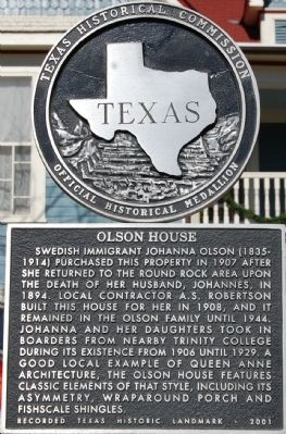 Olson House Marker image. Click for full size.