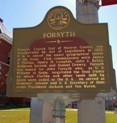 Forsyth Marker image. Click for full size.