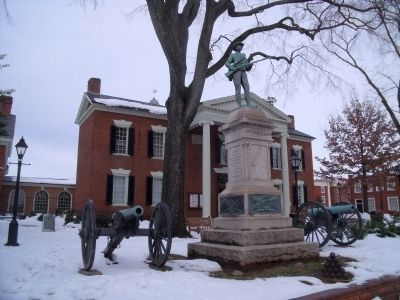 Albemarle UDC Monument and Guns image. Click for full size.