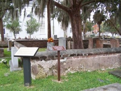 Site of the Old Baptist Meeting House Marker image. Click for full size.
