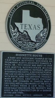 Hodnette House image. Click for full size.