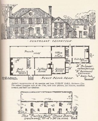 Furley Hall Floor Plans image. Click for full size.